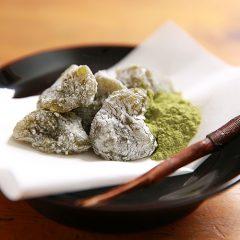 わらびもち(抹茶)